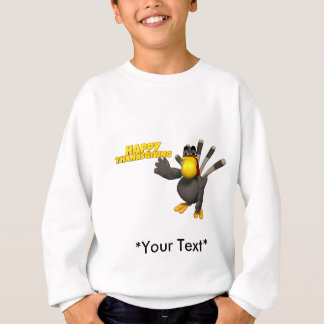 Kids T-Shirt - Thanksgiving Turkey Greeting