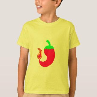 Kids T-Shirt Vertical Hot Jalapeno