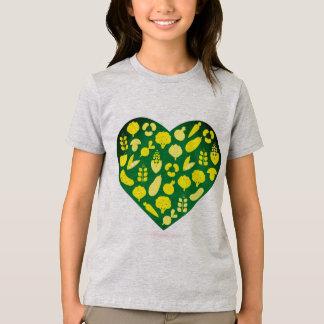 Kids t-shirt with Bio heart