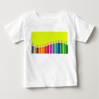 Kids t-shirt with pencils.