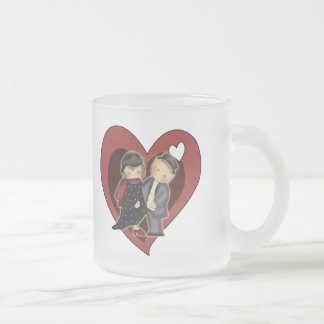 Kids T Shirts and Kids Gifts 10 Oz Frosted Glass Coffee Mug