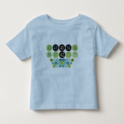 Kids T-Shirts, Lucky Numbers ringer shirt