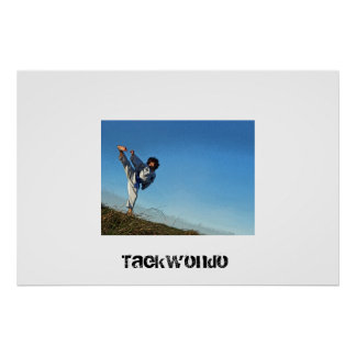 Kids Taekwondo Poster