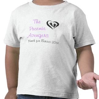 Kids Team Preemie Avengers T-Shirt