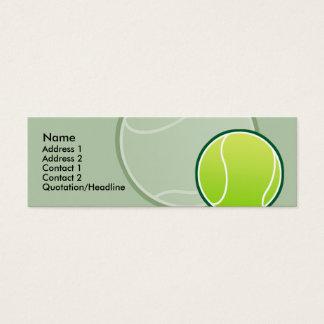 Kids Tennis Ball Skinny Profile Cards