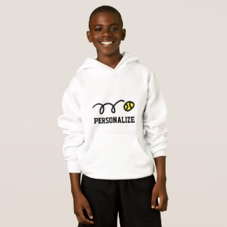 Kids tennis clothing | Custom childrens hoodie