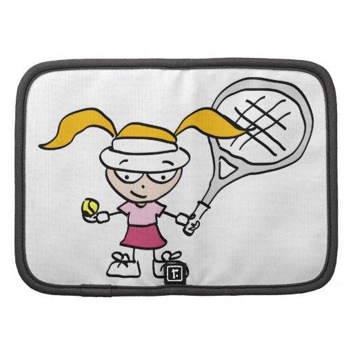 Kids tennis folio planner