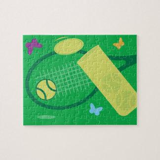 Kids tennis jigsaw puzzle