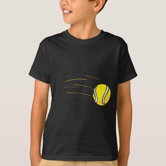 Kids Tennis Shirts - Flying Tennis Ball Kids Shirt