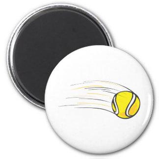 Kids Tennis Shirts - Flying Tennis Ball Kids Shirt Fridge Magnet