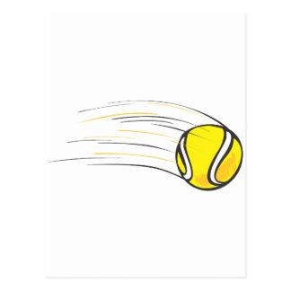Kids Tennis Shirts - Flying Tennis Ball Kids Shirt Postcard