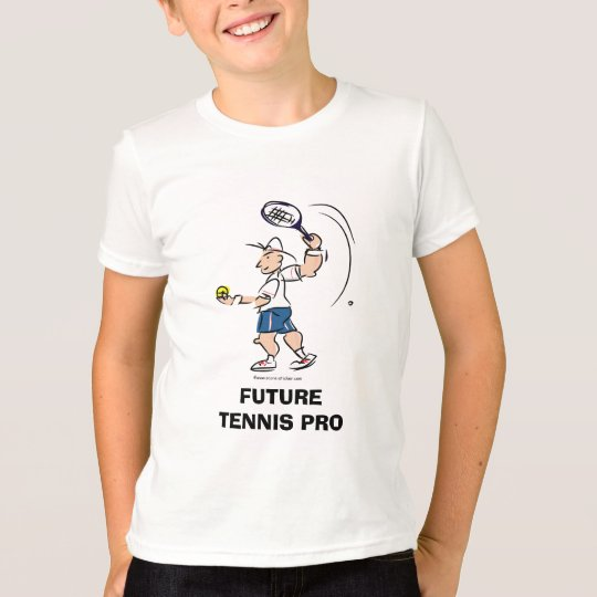 Kid's tennis t-shirt quote | Future tennis pro