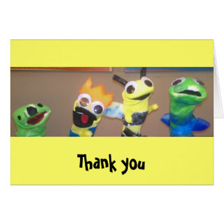 Kids Thank You notecard Stationery Note Card
