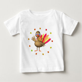 Kids' Thanksgiving Baby Turkey Baby T-Shirt