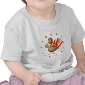 Kids' Thanksgiving Baby Turkey Shirts