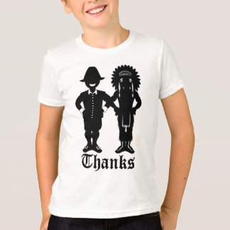 Kid's Thanksgiving T-shirt Festive Holiday Shirt