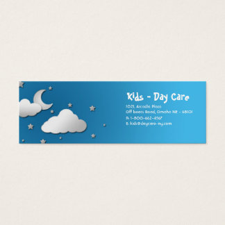 Kids themed business card