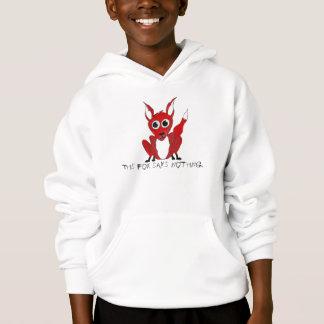 Kids This Fox Says Nothing Hoodie