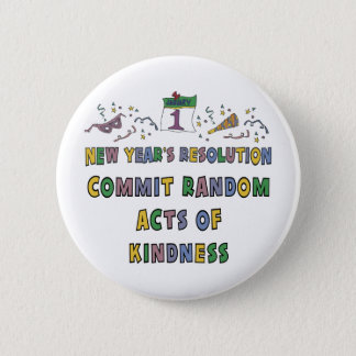 Kids, Toddler, Baby New Years Resolution Button