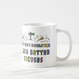 Kids, Toddler, Baby New Years Resolution Coffee Mug