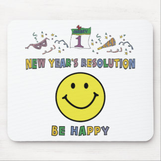 Kids, Toddler, Baby New Years Resolution Mouse Pad