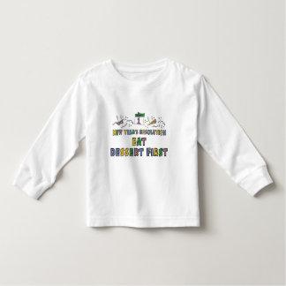 Kids, Toddler, Baby New Years Resolution T Shirt