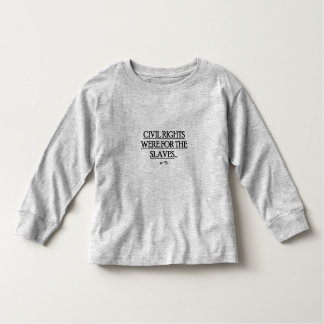 Kids /Toddler Long sleeve T-Shirt w/ Civil Rights