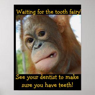 Kids Tooth Fairy Children Dentist Poster