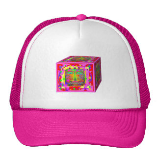 Kids Toy Block Fantasy Face-Stars Gifts by Sharles Mesh Hats