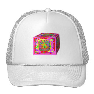 Kids Toy Block Fantasy Face-Stars Gifts by Sharles Trucker Hat