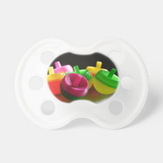 Kid's Toy Tops Spin Candy Colored Baby Pacifier