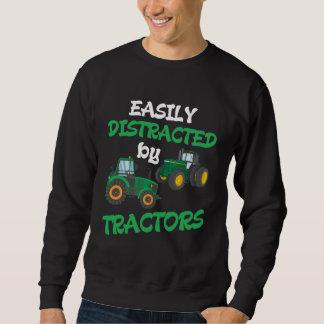 Kids Tractor lover Farming Son Nephew Farmer Sweatshirt