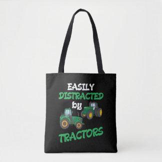 Kids Tractor lover Farming Son Nephew Farmer Tote Bag