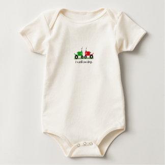 Kid's Tractor T-Shirt: I'm Still Deciding Baby Bodysuit