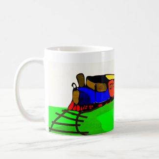 Kids Train Coffee Mug