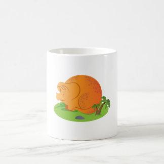 Kids Triceratops mug