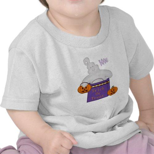 Kid's Trick or Treat Happy Ghost /TShirt shirt