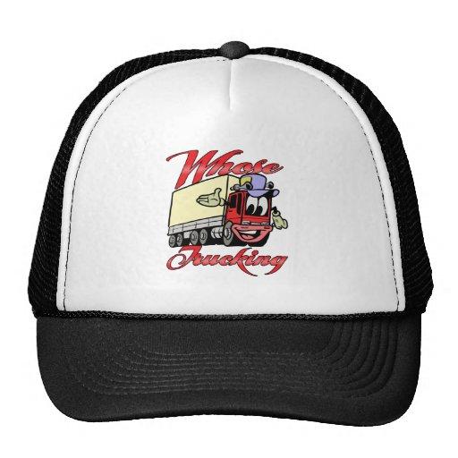 Kids Trucking Mesh Hats