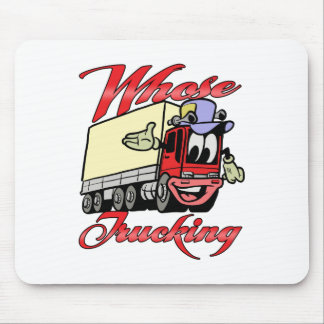 Kids Trucking Mouse Pad