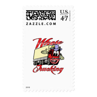 Kids Trucking Postage