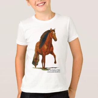 Kids Tshirt, Red Peruvian Paso T-Shirt