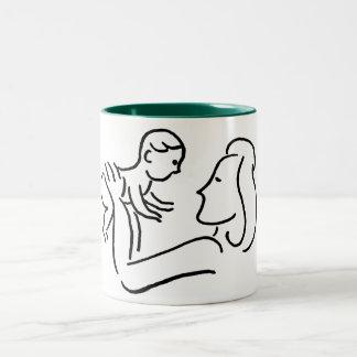 kids Two-Tone coffee mug