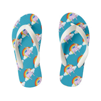 Kids Unicorn Flip-Flops Kid's Flip Flops