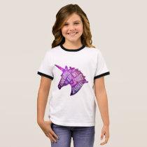 Kids Unicorn T-Shirt Unicorns Are My Spirit Animal