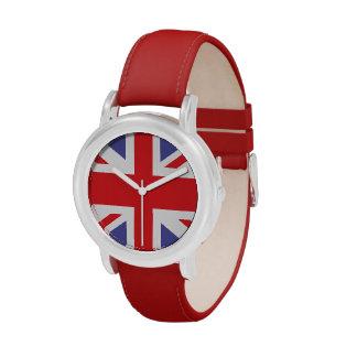 Kids Union Jack British Watch