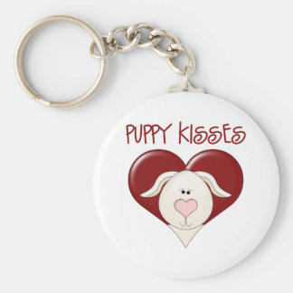 Kids Valentine's Day Gift Basic Round Button Keychain