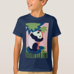 Kids Vintage WPA Brookfield Zoo Panda T shirt