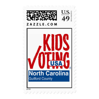 Kids Voting Guilford County (NC) Stamps