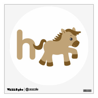 Kids Wall Art - Animals - Horse Wall Stickers