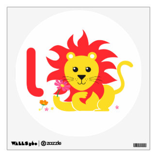 Kids Wall Art - Animals - Lion Wall Sticker